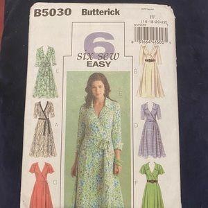 Butterick B5030 dress pattern